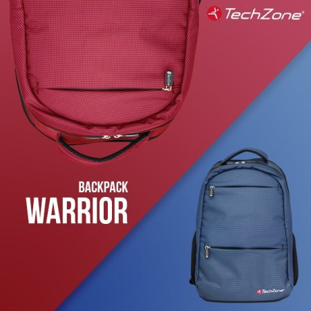 Backpack Warrior techzone lanza nuevas backpacks repelentes al agua
