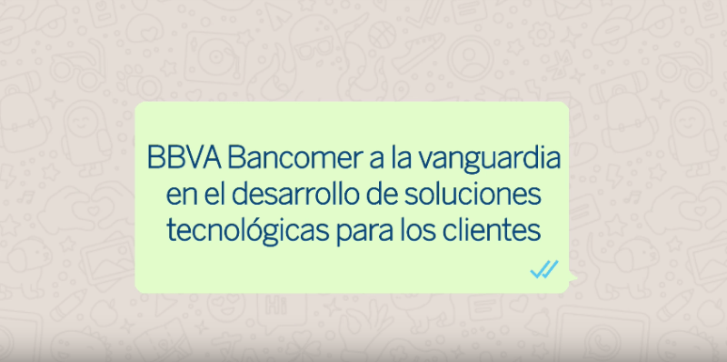 BBVA Bancomer integra el asistente virtual BBVA a través de Whatsapp e inteligencia Artificial - bbva-bancomer-integra-el-asistente-virtual-bbva-a-traves-de-whatsapp_1-800x398