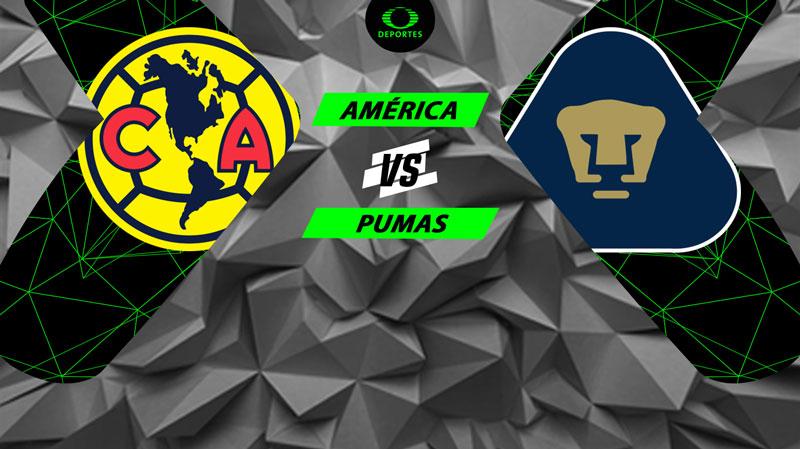 América vs Pumas, J7 de Liga MX A2018 ¡En vivo por internet! - clasico-america-vs-pumas-a2018
