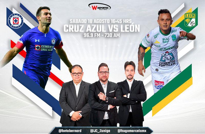 Cruz Azul vs León, Jornada 5 del Apertura 2018 ¡En vivo por internet! - cruz-azul-contra-leon-apertura-2018