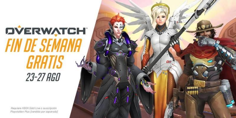 ¡Fin de semana gratuito en Overwatch del 23 al 27 de agosto! - fin-de-semana-gratuito-en-overwatch-23-800x400