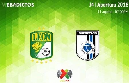 León vs Querétaro, Jornada 4 de la Liga MX A2018 ¡En vivo por internet!