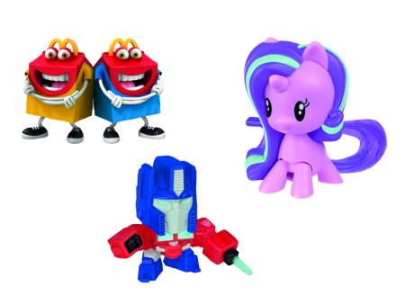 McDonald's trae a My Little Pony y Transformers a la Cajita Feliz