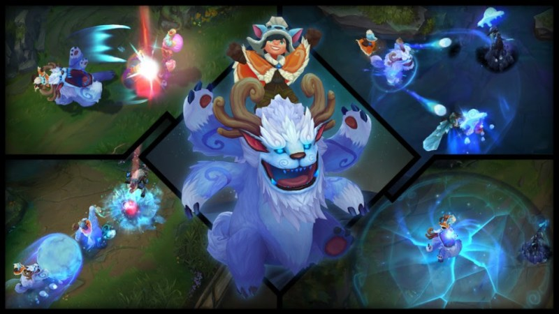 Nunu y Willump ¡ya disponibles en League of Legends! - nunu-y-willump-800x450