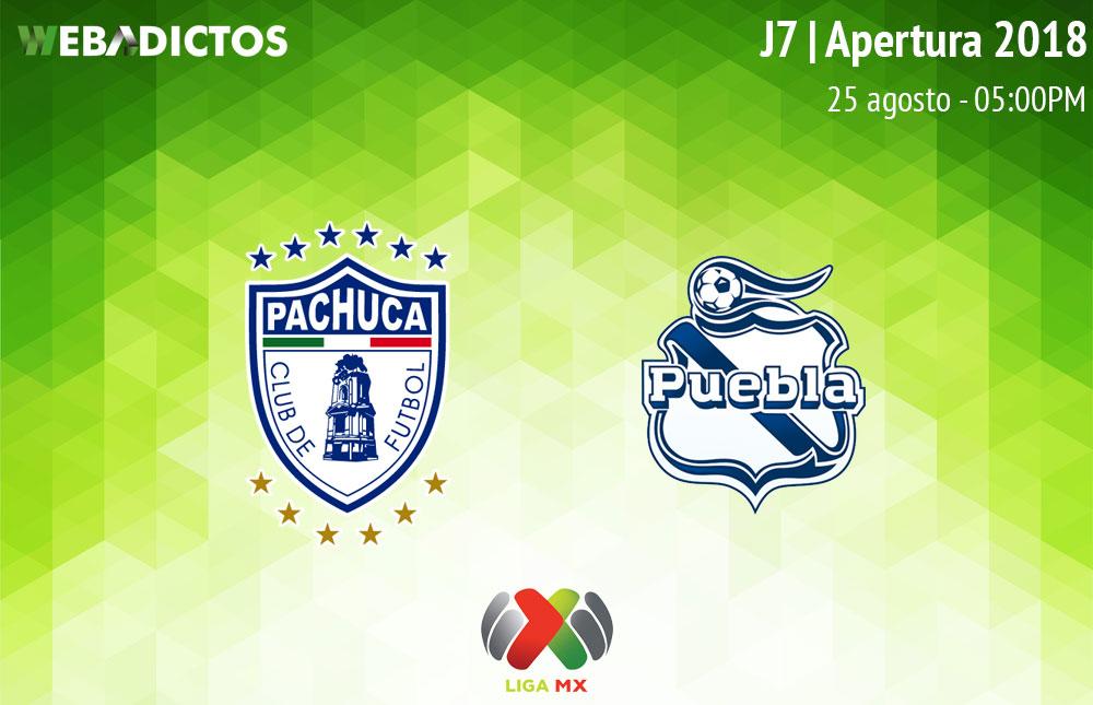 Pachuca vs Puebla, Jornada 7 Apertura 2018 ¡En vivo por internet! - pachuca-vs-puebla-apertura-2018