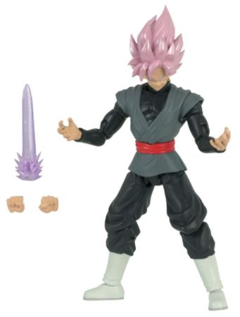 Figuras ultra detalladas Dragon Ball Stars de Bandai ¡ya disponibles en México! - super-saiyan-rose-goku-black