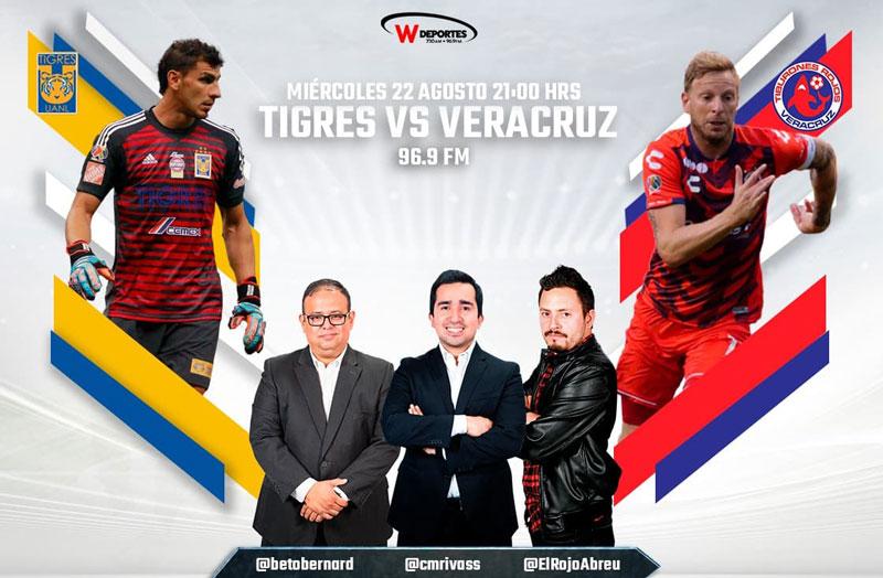 Tigres vs Veracruz, Jornada 6 de Liga MX A2018 ¡En vivo por internet! - tigres-contra-veracruz-2018-por-radio
