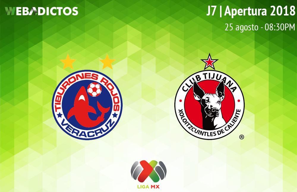 Veracruz vs Tijuana, Fecha 7 del Apertura 2018 ¡En vivo por internet! - veracruz-vs-tijuana-apertura-2018