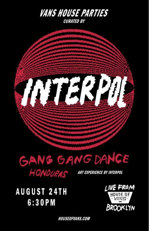 House of Vans Brooklyn cierra House Parties con la actuación de Interpol - vhp-interpol-pr-518x800