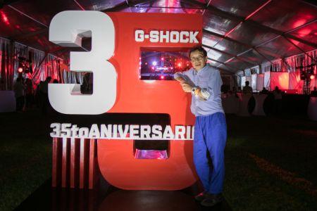 """G-SHOCK festeja su 35 aniversario: """"Tiempo de G-SHOCK"""""""