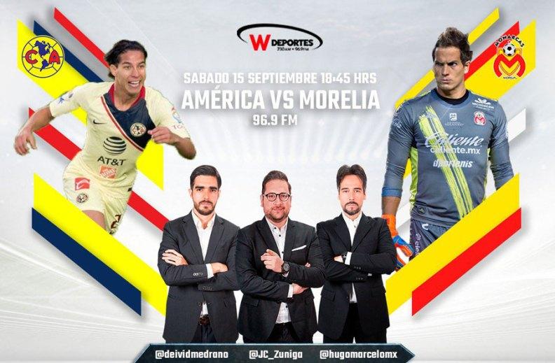 América vs Morelia, J9 del Apertura 2018 ¡En vivo por internet! - america-contra-morelia-internet-apertura-2018