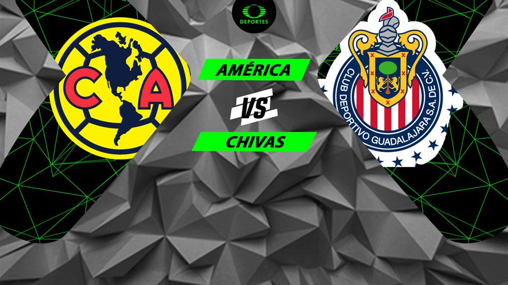 América vs Chivas, Clásico en el Apertura 2018 ¡En vivo por internet! - america-vs-chivas-2018-internet