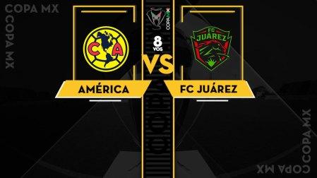América vs Juárez, Octavos de la Copa MX A2018 ¡En vivo por internet!