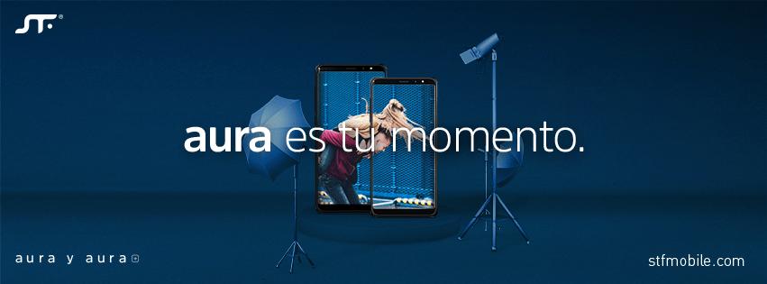 STF mobile lanza Aura y Aura Plus con sistema operativo Android GO - aura-stf-mobile