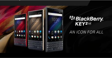 BlackBerry KEY2 LE oficialmente anunciado en IFA 2018