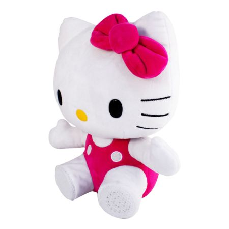 Ginga lanza bocina inalámbrica de peluche de Hello Kitty - bocina-inalambrica-de-hello-kitty