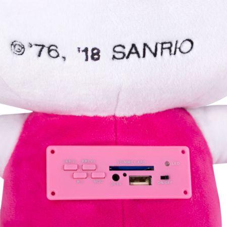 Ginga lanza bocina inalámbrica de peluche de Hello Kitty - bocina-inalambrica-de-peluche-de-hello-kitty