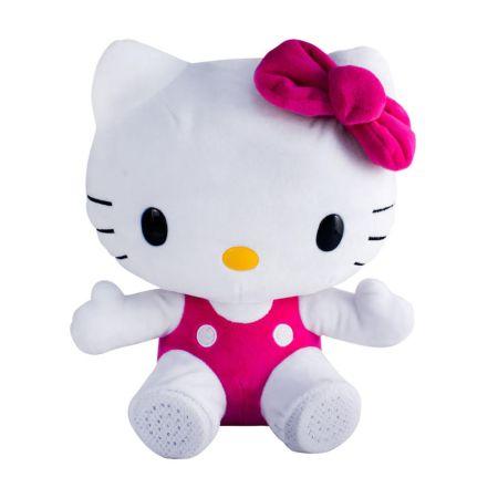 Ginga lanza bocina inalámbrica de peluche de Hello Kitty - bocina-kitty-450x450