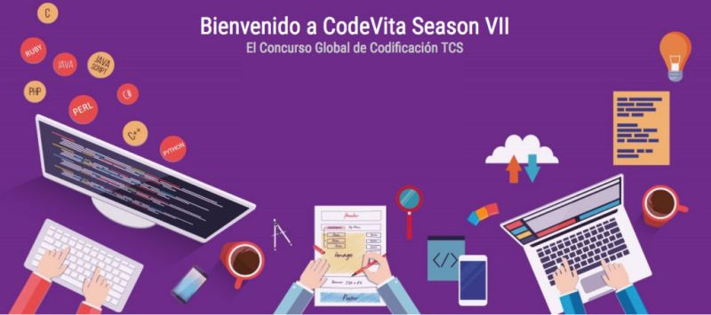 Lanzan concurso de programación: CodeVita 2018 ¡participa! - codevita-2018-800x355