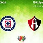 Cruz Azul vs Atlas, Jornada 10 de Liga MX A2018 ¡En vivo por internet!