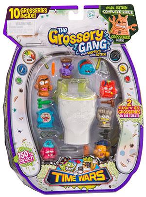 Los Grossery Gang presenta pelicula y nueva línea de juguetes de La guerra de los tiempos: Time Wars - grossery-gang-time-wars_1