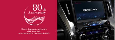 80° aniversario de Pioneer: presenta cuatro nuevas líneas de productos