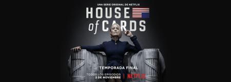 Netflix revela detalles de la sexta temporada de House of Cards