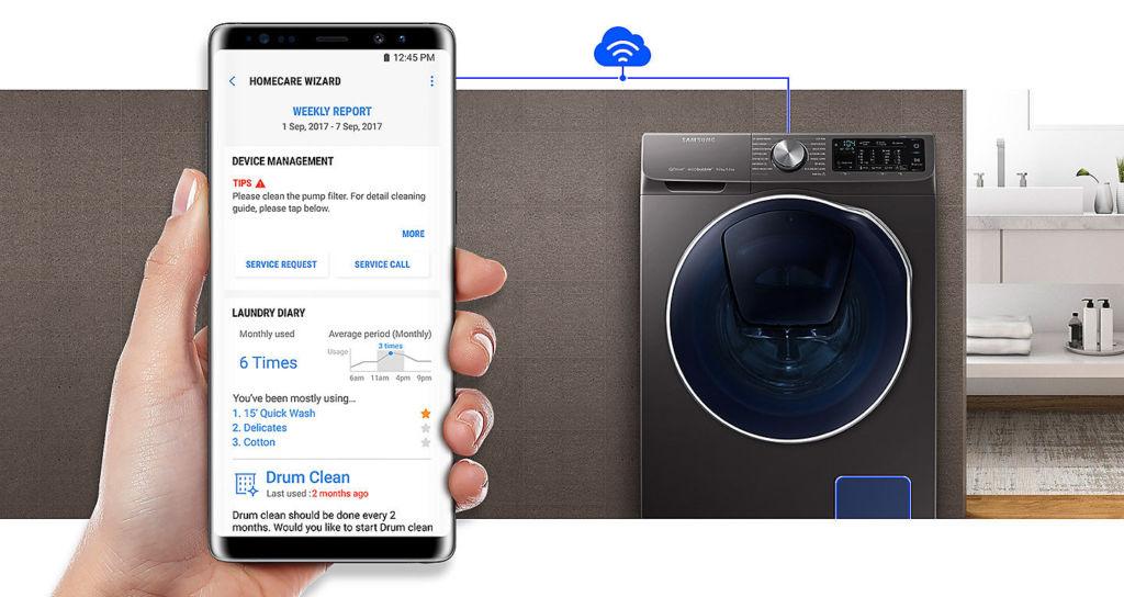 Smart Living, la línea premium de Samsung para concebir un hogar inteligente - smart-living-quickdrive