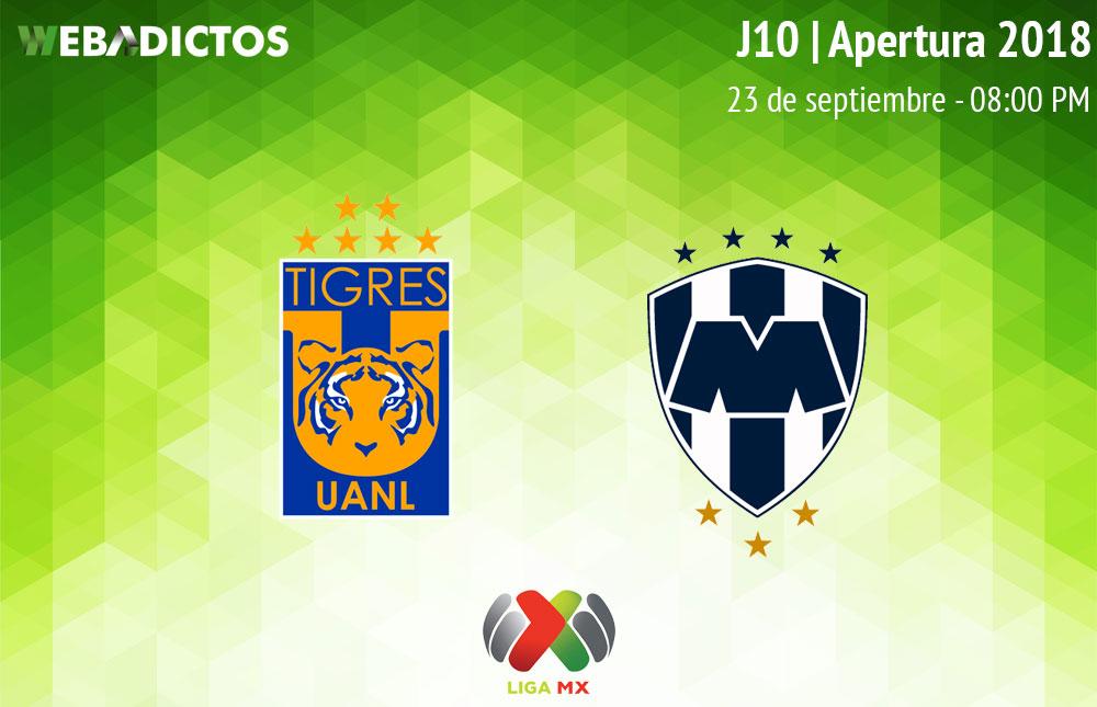 Tigres vs Monterrey, Clásico Regio en A2018 ¡En vivo por internet! - tigres-vs-monterrey-apertura-2018