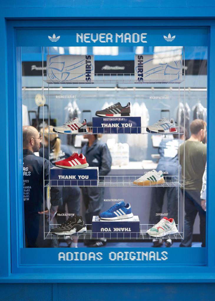 Never Made: la colección de adidas Originals que revolucionará el futuro de los sneakers - adidas_nevermade