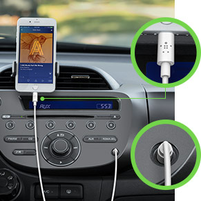 Belkin añade el cable de Audio de 3.5 mm con Conector Lightning