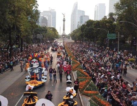 Desfile de día de muertos 2018 en vivo por internet