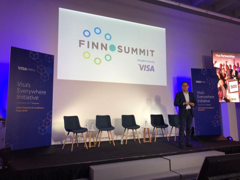 Visa expande programa de acceso rápido a su red a fintechs en LATAM - finnosummit_ruben-salazar-800x600