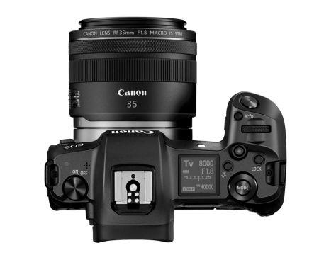 Nueva Canon EOS R, la cámara precursora mirrorless de fotograma completo - hr_eos_r_rf35_macro_is_stm_top_bw
