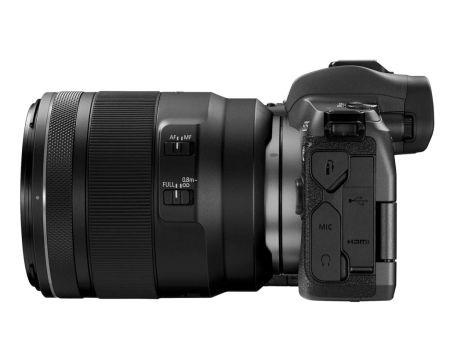 Nueva Canon EOS R, la cámara precursora mirrorless de fotograma completo - hr_eos_r_rf50_usm_left_bw