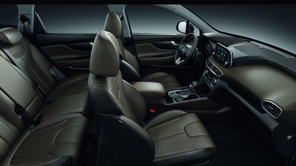 La totalmente nueva Hyundai Santa Fe y el renovado Elantra llegan a México - interior-santa-fe-hundai
