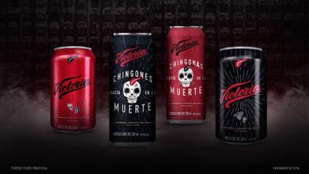 Cerveza Victoria lanza lata edición especial de Día de Muertos con realidad aumentada