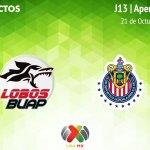Lobos BUAP vs Chivas, J13 Apertura 2018 ¡En vivo por internet!