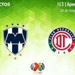 Monterrey vs Toluca, J13 Apertura 2018 ¡En vivo por internet!