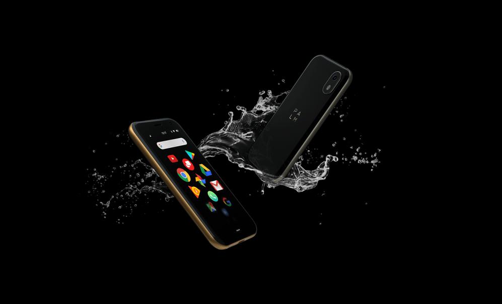 """Palm regresa al mercado móvil con un equipo para """"acompañar"""" a smartphones más grandes - palmphonewater"""