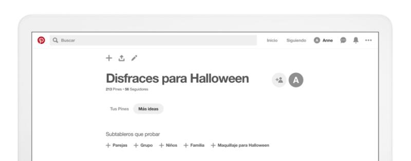 """Pinterest presenta la pestaña """"más ideas"""" - pestancc83a-mas-ideas-pinterest-800x315"""