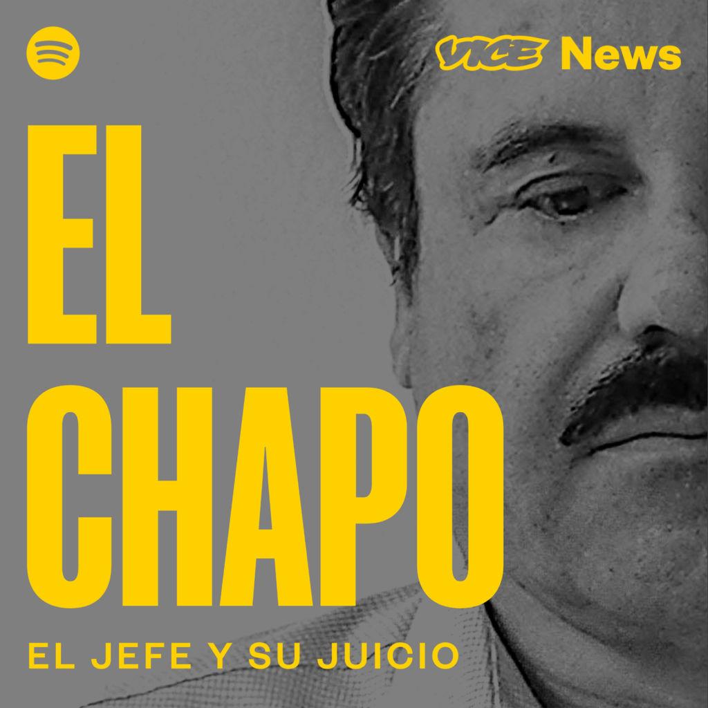 """El Chapo"" podcast de VICE News, disponible en noviembre soló por Spotify - podcast_chapo_spotify"