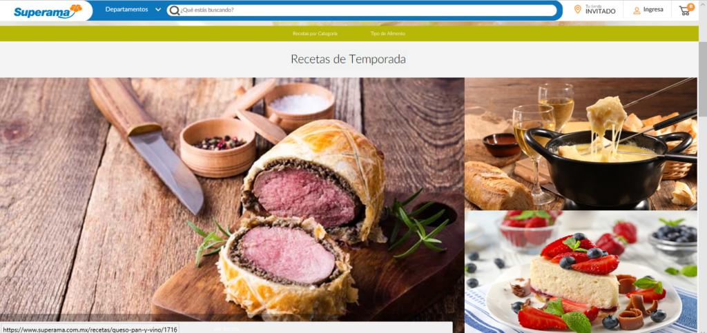 Superama.com.mx se renueva para una mejor experiencia de compra, en menor tiempo - seccion-de-recetas
