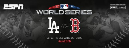 Serie Mundial 2018 de la MLB en vivo por ESPN: Dodgers vs Boston
