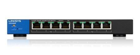 Linksys lanza nuevos Switches Gigabit POE+ Inteligentes de alta potencia - switch-gigabit-poe-inteligente