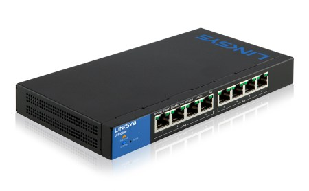 Linksys lanza nuevos Switches Gigabit POE+ Inteligentes de alta potencia