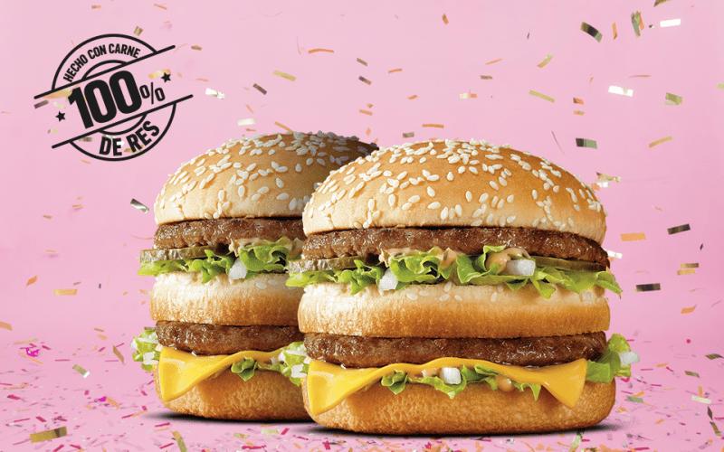 Big Mac, la hamburguesa más famosa de McDonald's cumple 50 años - 50-aniversario-de-la-big-mac-800x500