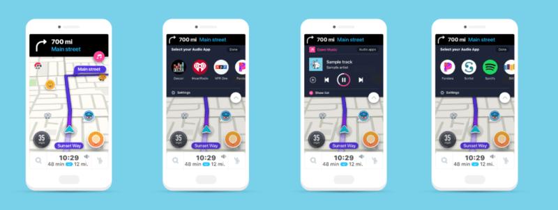 Waze Audio Player, una experiencia de conducción perfecta - app-waze-800x302