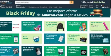 Ofertas de Amazon México tiene para ti en este Black Friday