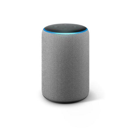 Amazon anuncia la llegada de Amazon Echo, Echo Plus, Echo Dot y Echo Spot a México - echo-plus-heather-gray-front-on-450x450